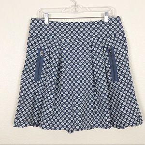 Anthro Maeve Fourth Street Swing Skirt sz 12